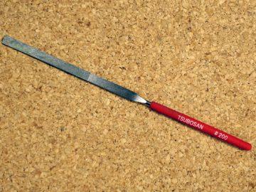 こんなん使ってます。TSUBOSAN ダイヤモンドヤスリ:DSHI0520