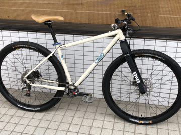 しばしドック入り、My Sweet Hart Chris King Cielo 29er